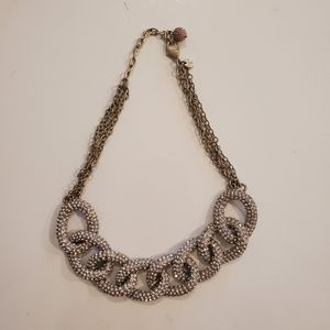 LOFT Thick Chain Statement Necklace